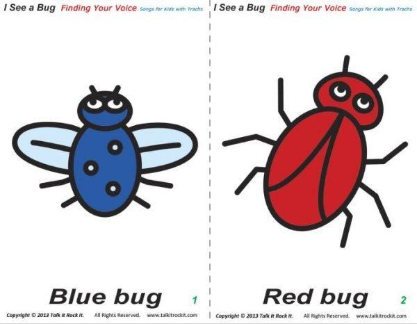 tracheostomyeducation.com pediatric tracheostomy songs i see a bug flashcards