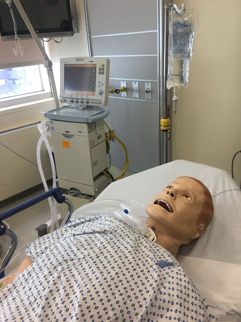 tracheostomy simulation lab